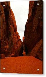 The Path To San Dune Falls Acrylic Print by Jeff Swan