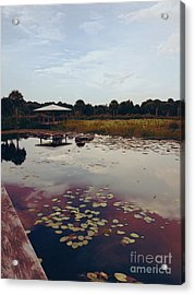 The Pavilion 2 Acrylic Print by K Simmons Luna