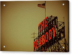 The Peabody Acrylic Print by Mark Bowmer