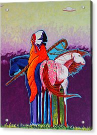 The Peacemakers Gift Acrylic Print by Joe  Triano