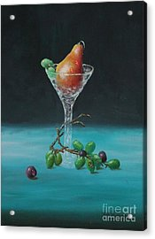 The Pear Martini Acrylic Print