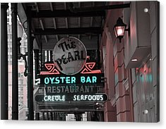 The Pearl Oyster Bar Acrylic Print