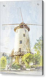 The Penny Royal Windmill Acrylic Print