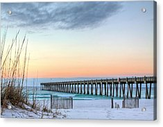 The Pensacola Beach Pier Acrylic Print