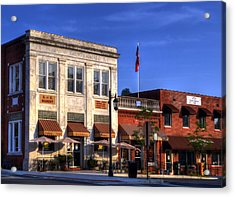 The Peoples Bank Building Acrylic Print