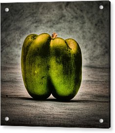 The Pepper Acrylic Print by Timothy Bischoff