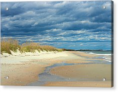 The Perfect Beach Shot Acrylic Print by Lisa Campbell