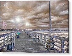 The Perfect Storm Acrylic Print by Betsy Knapp