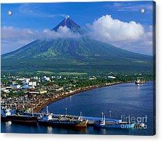 The Perfect Volcano Acrylic Print