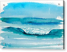 The Perfect Wave Acrylic Print