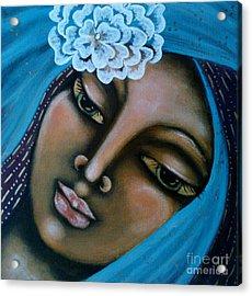 The Perfected Soul Acrylic Print by Maya Telford