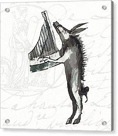 The Phantasmagorical Farmyard Boar Acrylic Print