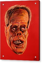 The Phantom Of The Opera Acrylic Print by Brent Andrew Doty