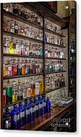 The Pharmacy Acrylic Print by Adrian Evans