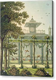 The Pheasantry Acrylic Print by Humphry Repton