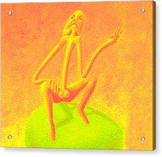 The Philosopher Acrylic Print