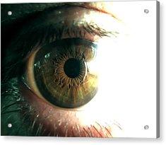 The Physicists Eye Acrylic Print