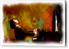 The Pianist Acrylic Print