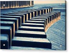 The Piano Acrylic Print