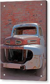 Acrylic Print featuring the photograph The Pick Up by Lynn Sprowl