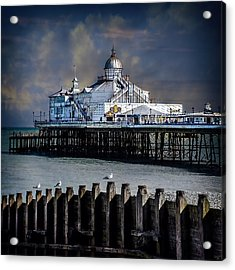 The Pier At Eastbourne Acrylic Print by Chris Lord