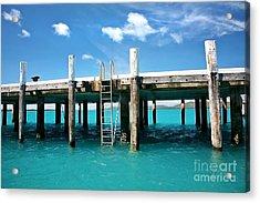 The Pier Acrylic Print