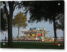 The Pier - St. Petersburg Fl Acrylic Print by HH Photography of Florida
