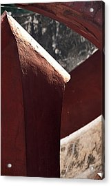 The Pillar Stands Acrylic Print by Rajiv Chopra