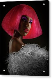 The Pink Panther Acrylic Print