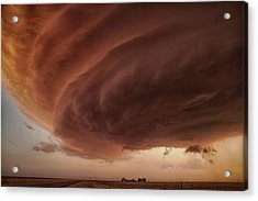 The Pink Storm Acrylic Print