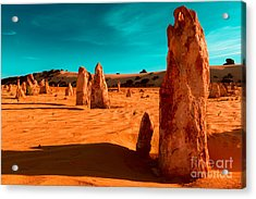 The Pinnacles Acrylic Print