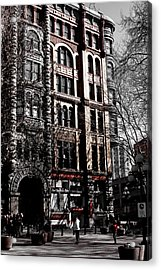 The Pioneer Building - Seattle Washington Acrylic Print by David Patterson