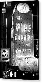 The Pipe Corner Acrylic Print by Mark Andrew Thomas