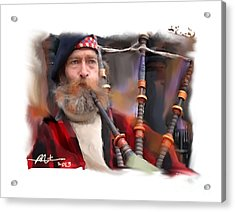 The Piper Acrylic Print