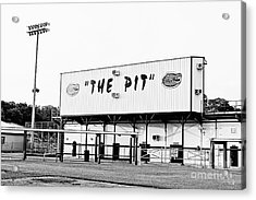 The Pit Acrylic Print by Scott Pellegrin