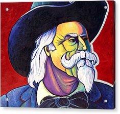 The Plainsmen - Buffalo Bill Cody Acrylic Print by Joe  Triano