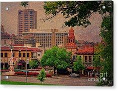 The Plaza - Kansas City Missouri Acrylic Print