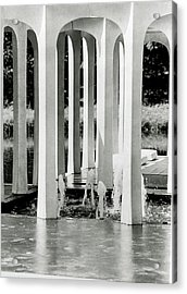 The Pleasure Pavilion In Connecticut Acrylic Print