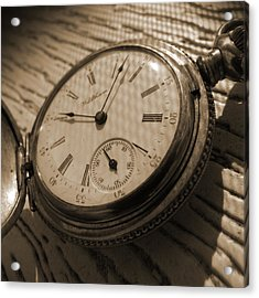 The Pocket Watch Acrylic Print by Mike McGlothlen