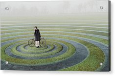 The Point Of No Return Acrylic Print by Esther Margraff