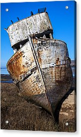 The Point Reyes Acrylic Print by Garry Gay