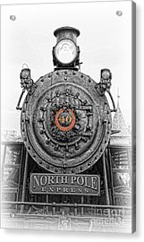 The Polar Express - Steam Locomotive Iv Acrylic Print