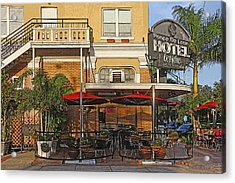 The Ponce De Leon Hotel Acrylic Print by HH Photography of Florida