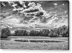 Acrylic Print featuring the photograph The Pond by Howard Salmon
