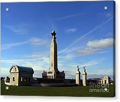 The Portsmouth Naval Memorial Southsea Acrylic Print by Terri Waters