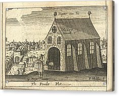 The Powder Plot Acrylic Print by British Library