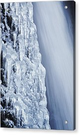 The Power Of Cold Acrylic Print