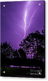 The Power Acrylic Print by Will  Gottwald