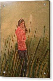 The Prayer Acrylic Print by Renee McKnight