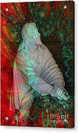 The Prayer Acrylic Print by Rick Rauzi